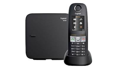 Gigaset Festnetztelefon »GIGASET E630« kaufen