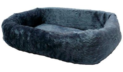 SILVIO DESIGN Hundebett und Katzenbett »de Luxe 75«, B/L/H: 75/45/17 cm, blau kaufen