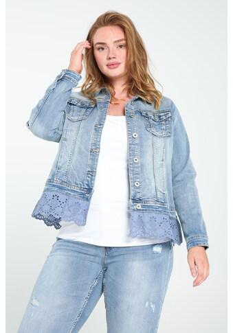 Paprika Jeansjacke »Ohne Kragen Reißverschluss casual«, casual kaufen