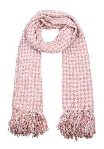 leslii Schal mit modischem Hahnentritt-Muster kaufen