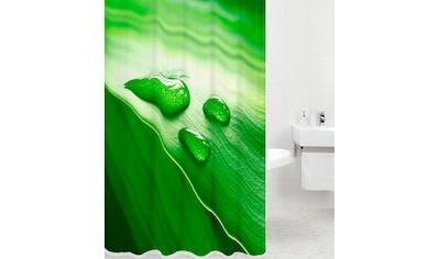 Sanilo Duschvorhang »Green Leaf«, Breite 180 cm kaufen
