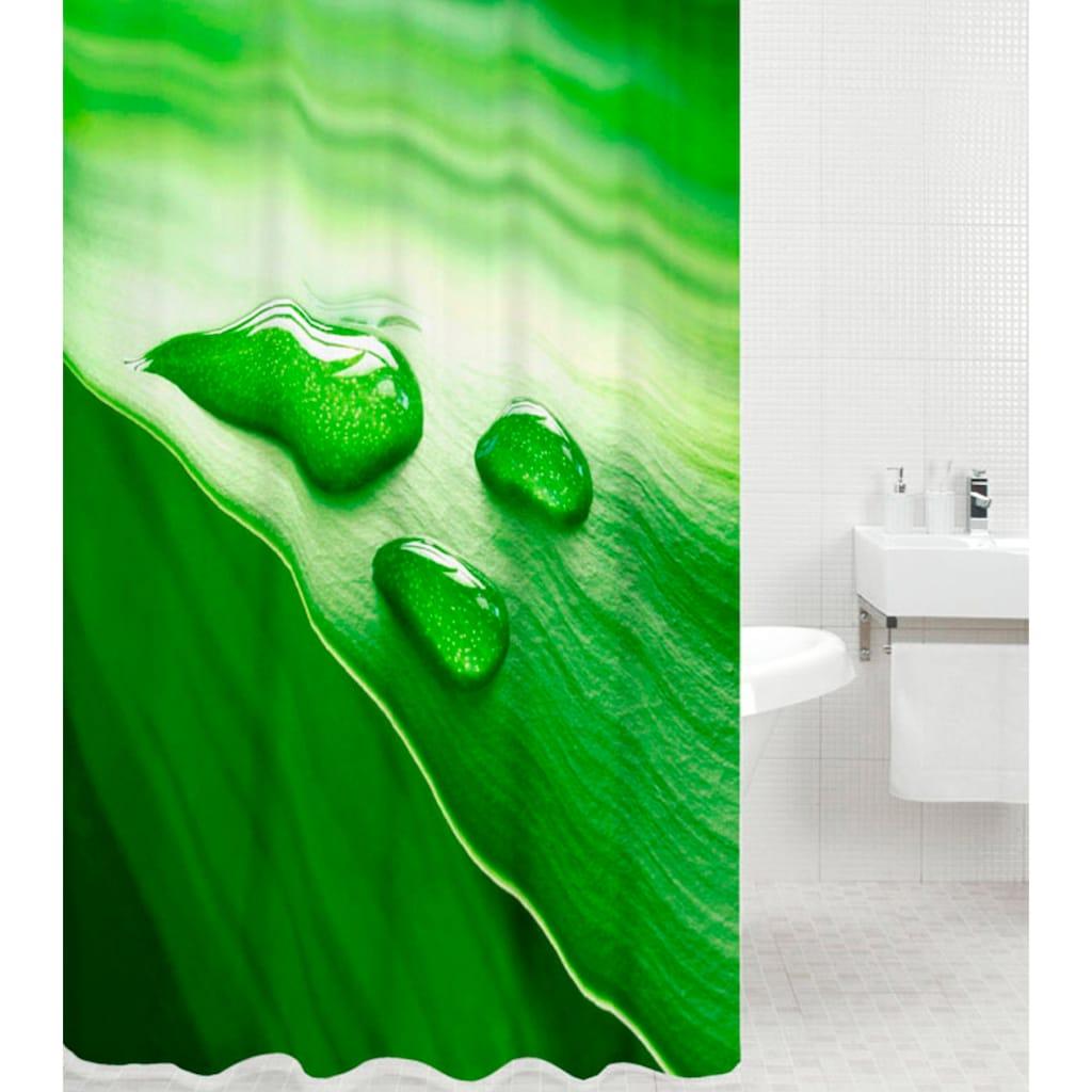 Sanilo Duschvorhang »Green Leaf«, Breite 180 cm