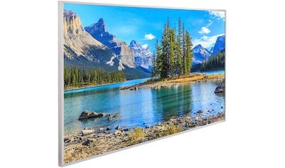 Papermoon Infrarotheizung »Berge Insel Maligne See, EcoHeat«, Aluminium, 600 W, 100x60... kaufen