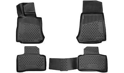 WALSER Passform-Fußmatten »XTR«, Mercedes, GL, Geländewagen, (4 St., 2 Vordermatten, 2... kaufen