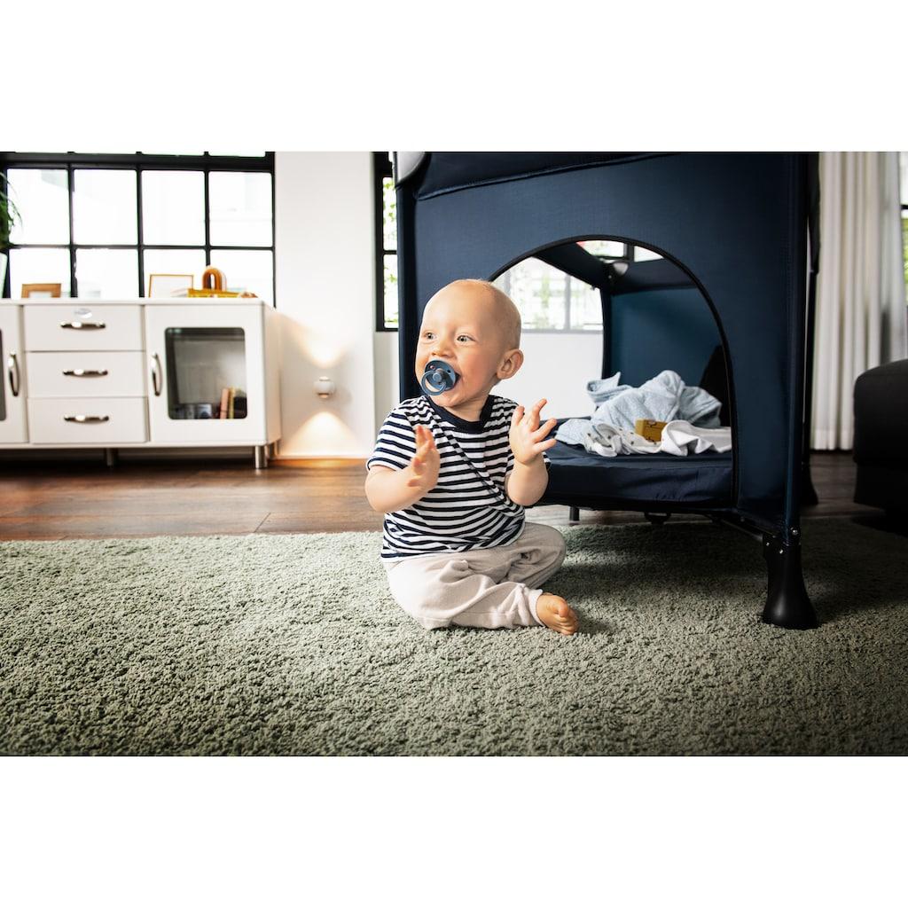 Hauck Baby-Reisebett »Dream N Play Plus, Navy«, inkl. Transporttasche