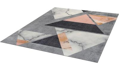 Teppich, »Velvet Marble«, wash+dry by Kleen - Tex, rechteckig, Höhe 9 mm, gedruckt kaufen