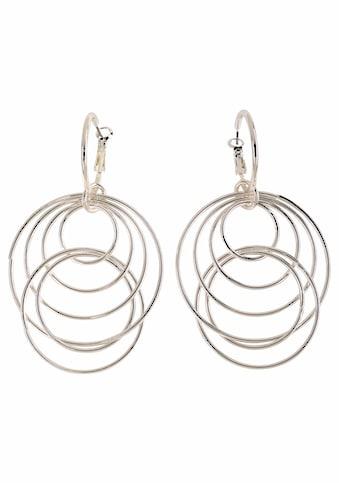 J.Jayz Paar Ohrhänger »mit beweglichen Ringen« kaufen