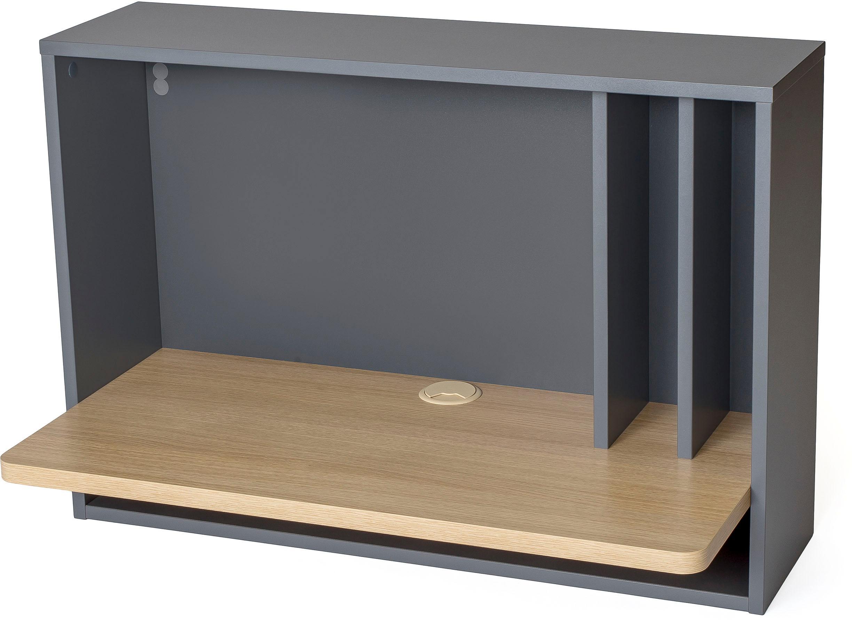 Woodman Schreibtisch Minyard Breite 80 cm