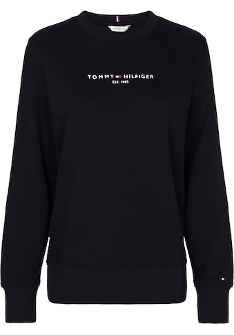 Tommy Hilfiger Sweatshirt »TH ESS HILFIGER C-NK SWEATSHIRT«, mit gesticktem Linear... kaufen