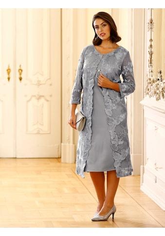 m. collection 2-in-1-Kleid, rundum mit glitzernden Stickereien kaufen