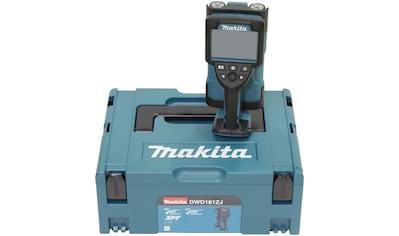 Makita Metalldetektor »DWD181ZJ«, LXT, 18V, +/- 5 mm, 180 mm, ohne Akku und Ladegerät kaufen