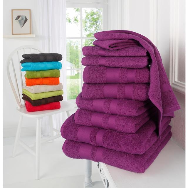 Handtuch Set, »Vanessa«, my home (Set)