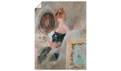 Artland Wandbild »Frau vor dem Spiegel 1830« kaufen