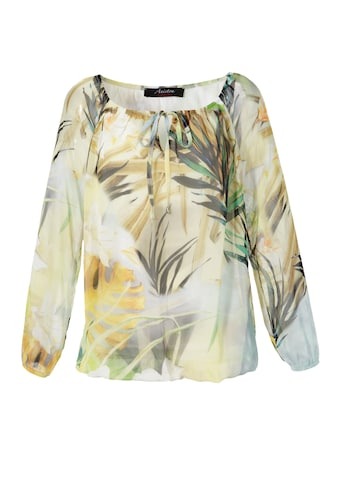 Aniston CASUAL Carmenbluse, mit Tropical-Print - NEUE KOLLEKTION kaufen