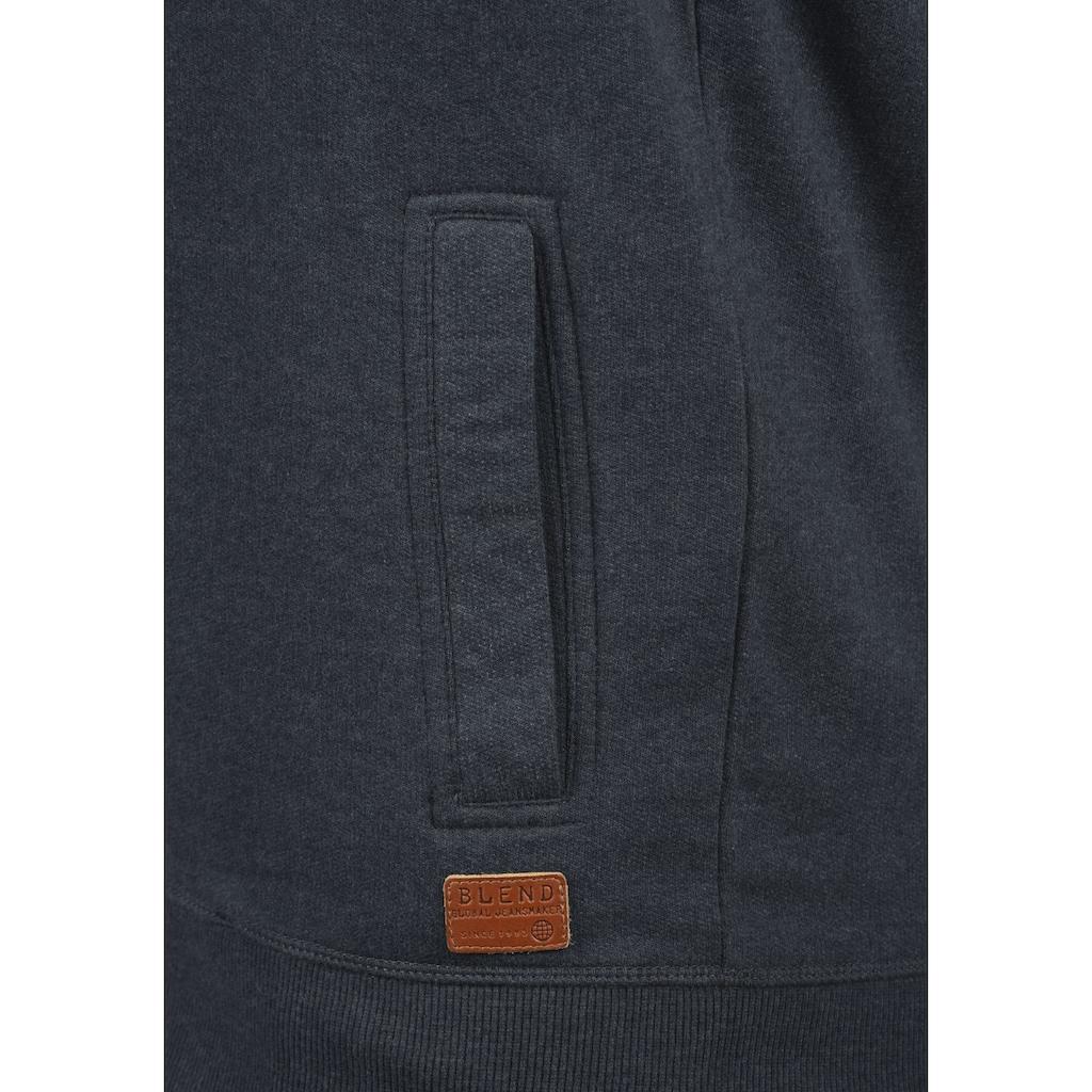Blend Sweatjacke »Alio«, Sweatshirtjacke mit zwei Eingriffstaschen