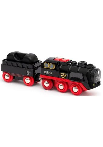 BRIO® Spielzeug-Zug »Batterie-Dampflok mit Wassertank«, mit Licht- und Dampffunktion kaufen