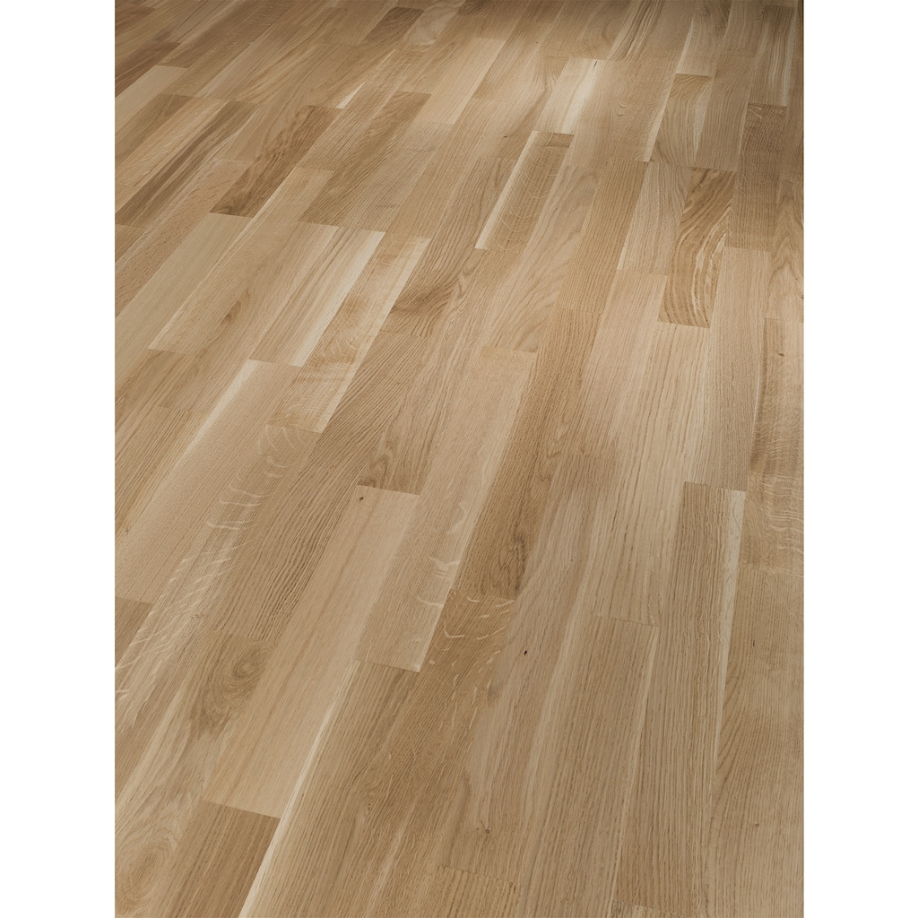 PARADOR Parkett »Basic Rustikal - Eiche, geölt«, ohne Fuge, 2200 x 185 mm, Stärke: 11,5 mm, 4,07 m²