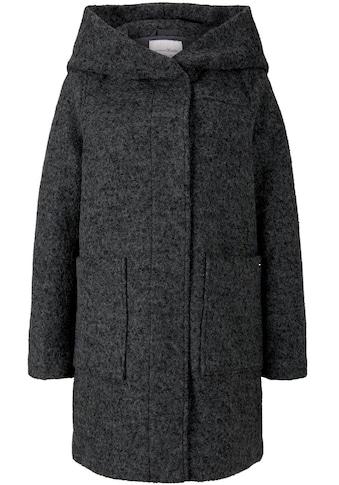 TOM TAILOR Denim Wintermantel, mit großer, kuscheliger Kapuze kaufen