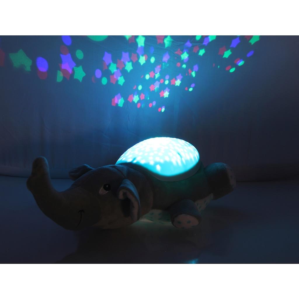 Jamara Kuscheltier »Sternenlicht Dreamy, Elefant«, mit Licht und Sound