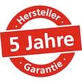 Burg Wächter Briefkasten »Piano 886 W«, in Klavierlack-Optik, Weiß