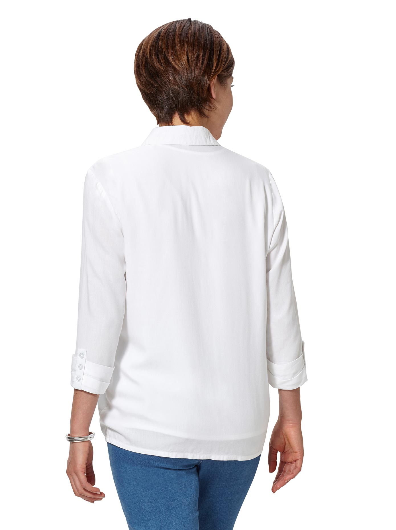 classic basics -  Blusenset: Top + Bluse in sehr trageangenehmer Viskose-Qualität