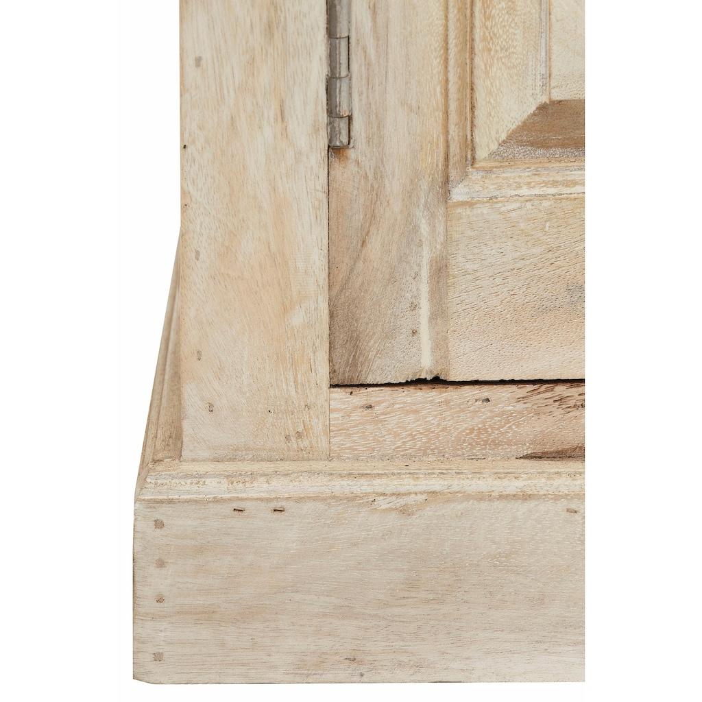 Home affaire Garderobenschrank »Devdan«, mit dekorativen Fräsungen oben, Breite 100 cm