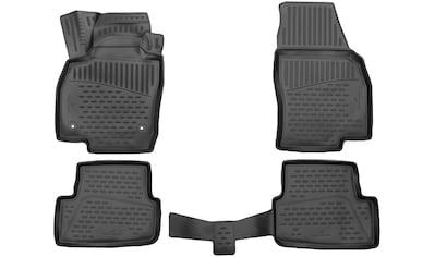 WALSER Passform-Fußmatten »XTR«, (4 St.), für Opel Grandland X Bj 06/2017 - Heute kaufen