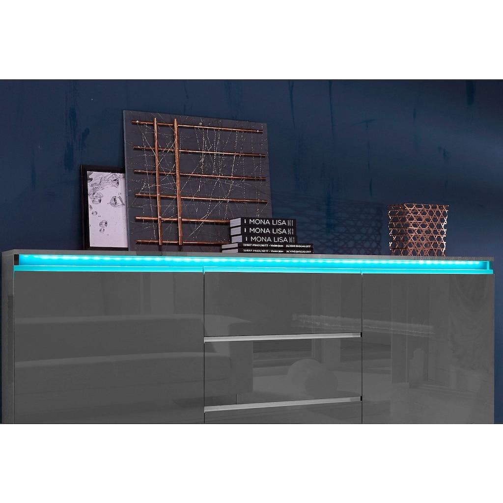 LED Schrankinnenraumbeleuchtung »RGB Flexband«, 1 St., Farbwechsler, (1 Stück) mit Funkfernbedienung