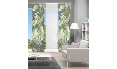 Vision Schiebegardine »JUNGOLA 3er SET«, Bambus-Optik, Digital bedruckt kaufen