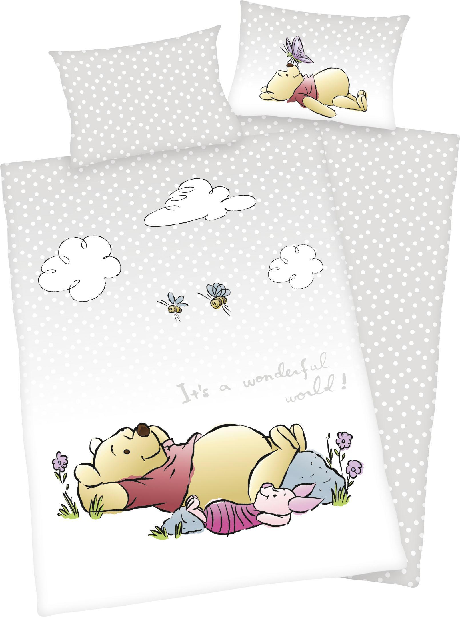 Babybettwäsche Winnie the Pooh Walt Disney