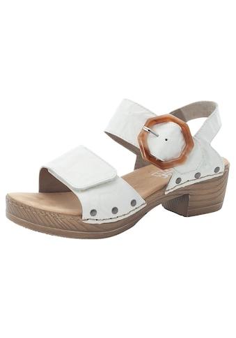 Rieker Sandalette, mit großer Zierschnalle kaufen