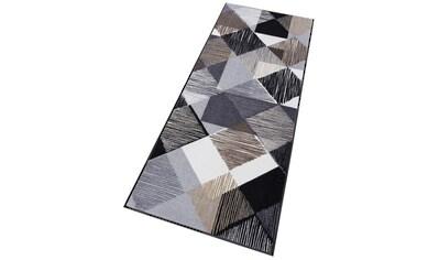Läufer, »Lines and Boxes«, wash+dry by Kleen - Tex, rechteckig, Höhe 7 mm, gedruckt kaufen