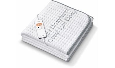 BEURER Wärmeunterbett »UB 190 CosyNight«, separat einstellbare Temperaturzonen für... kaufen