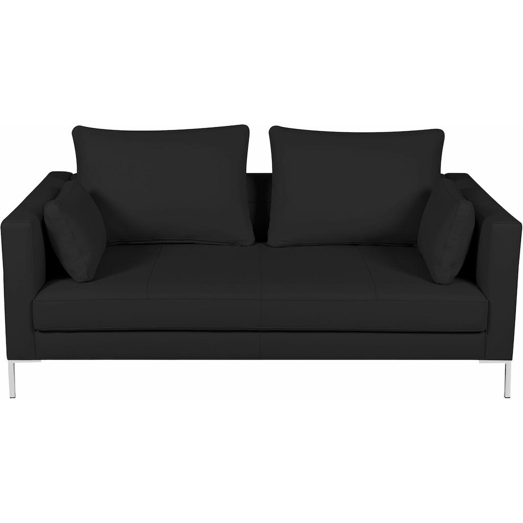 Alte Gerberei 2-Sitzer »Marinus«, mit schmalen Lehnen, inklusive Rückenkissen & Armlehnkissen