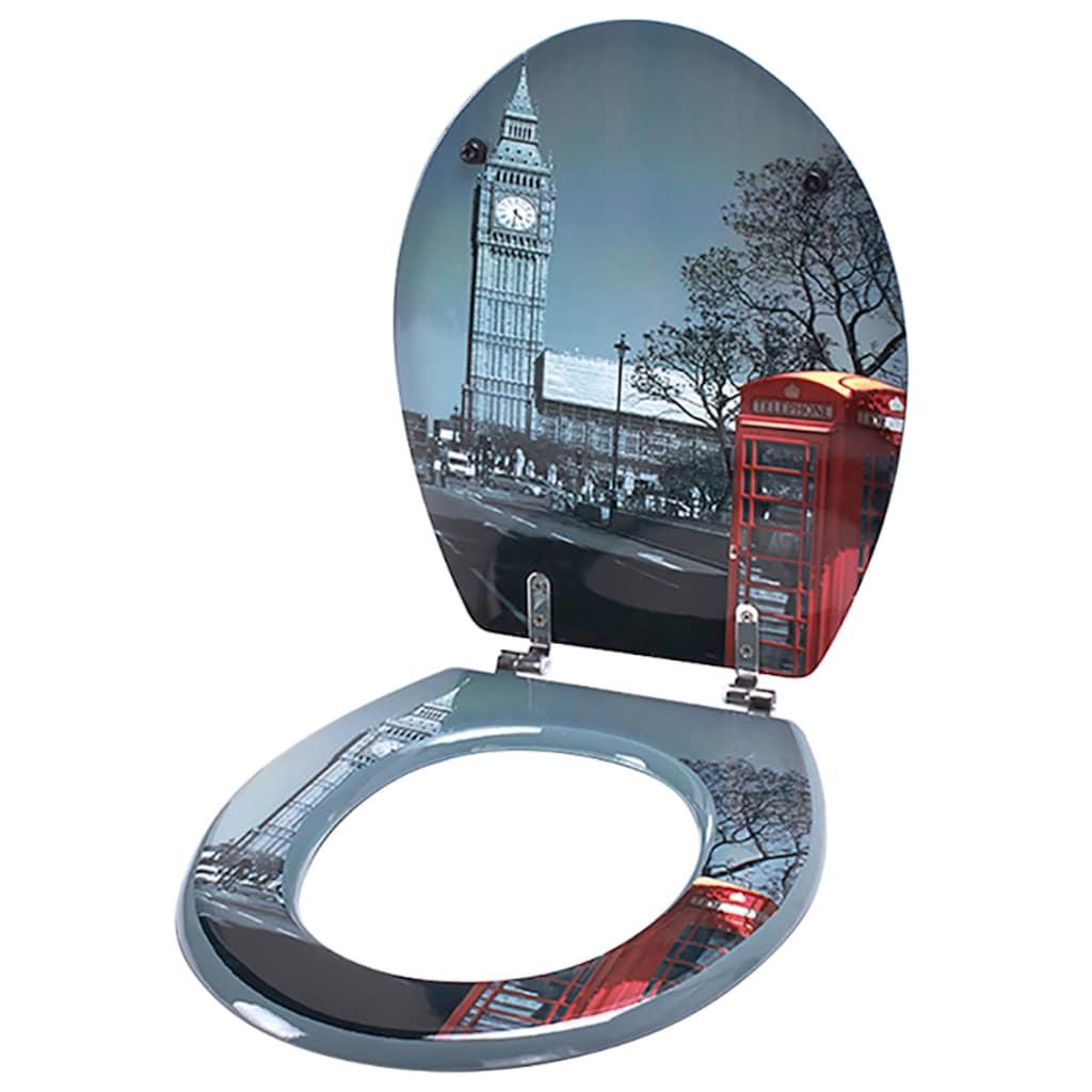 MSV WC-Sitz »LONDON«, MDF-Kern
