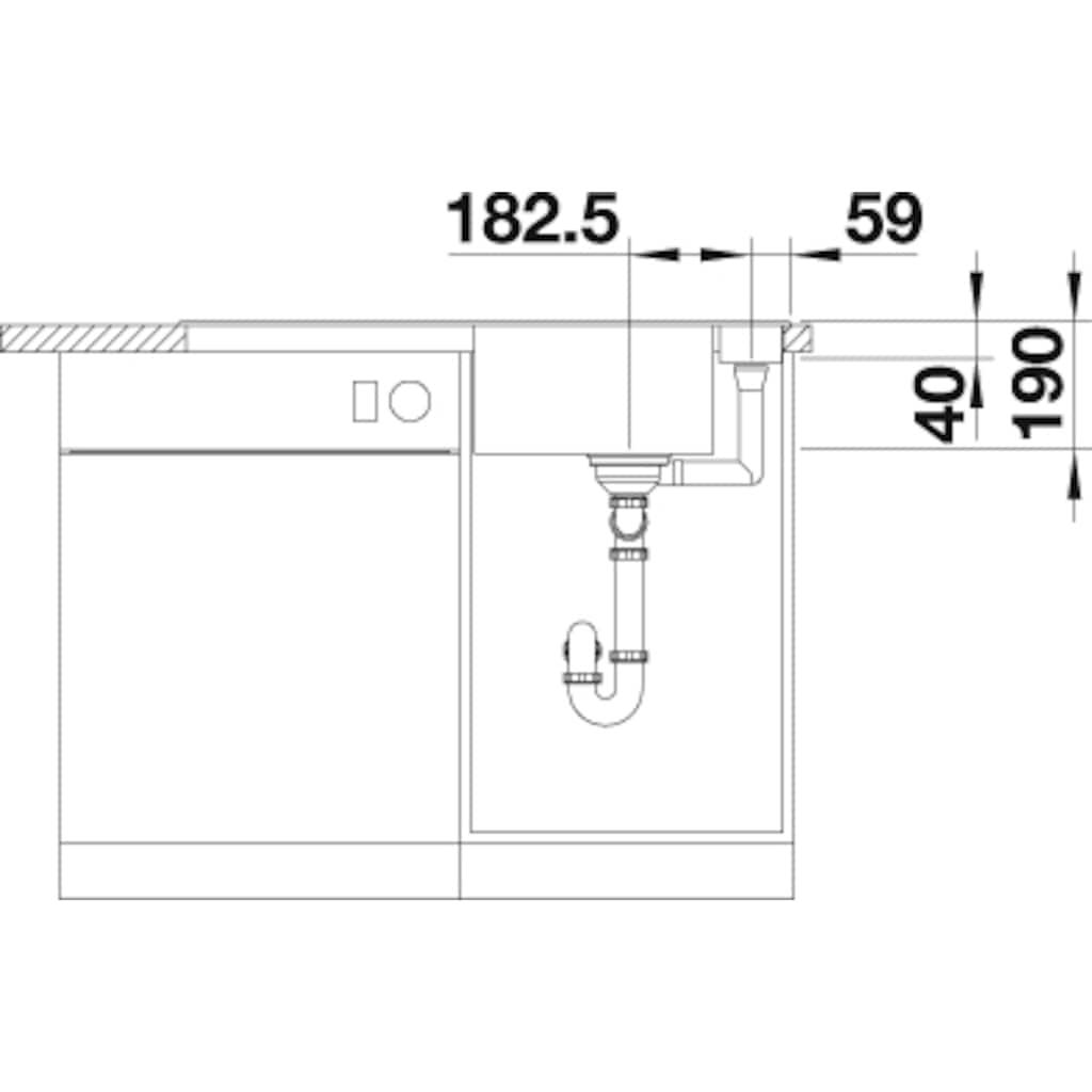Blanco Granitspüle »AXIA III 5 S«, aus SILGRANIT®