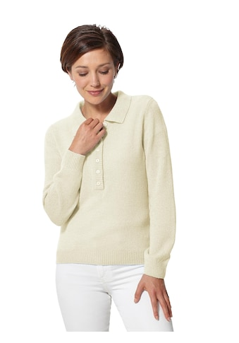 Classic Basics Pullover in sommerlicher Feinbouclé - Qualität kaufen