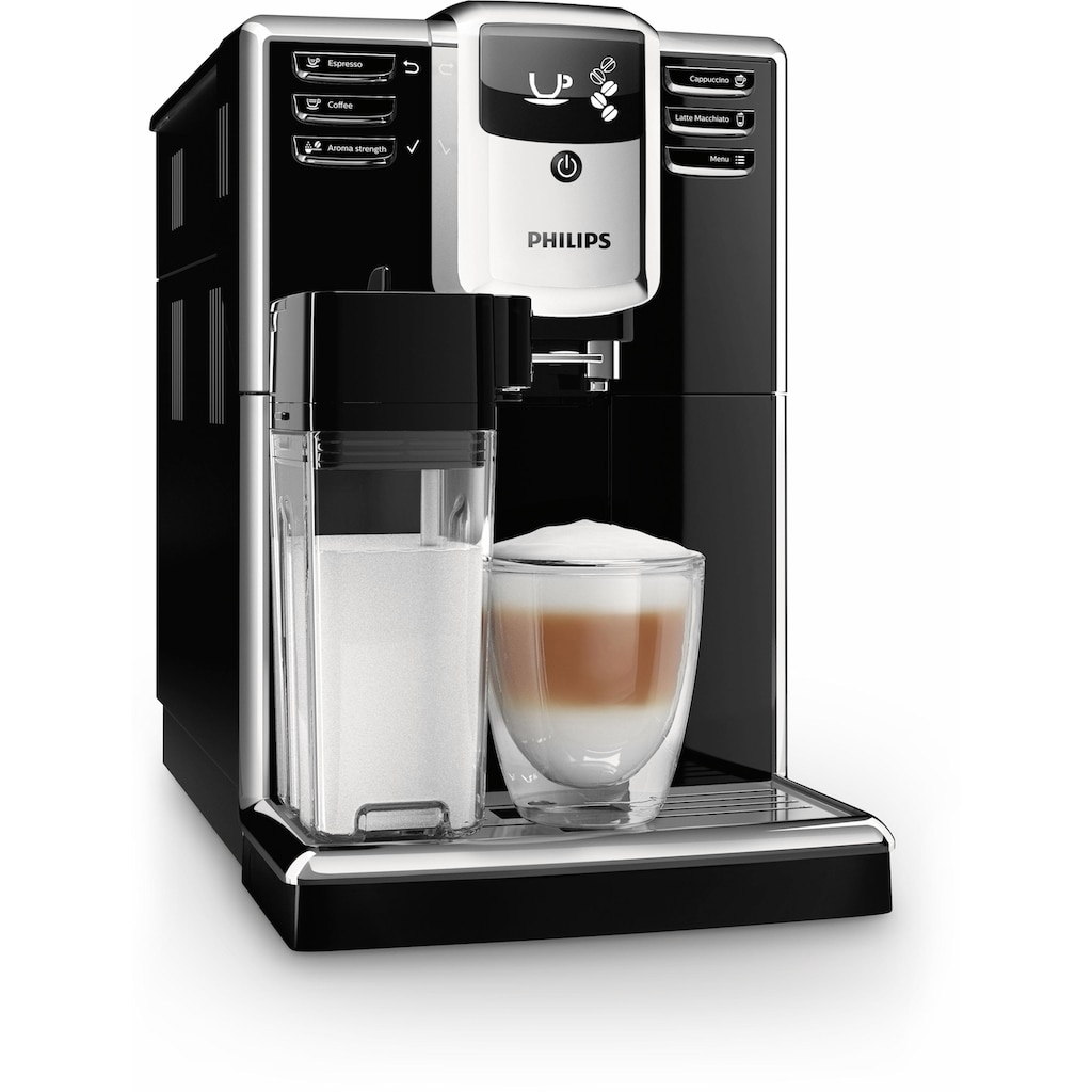 Philips Kaffeevollautomat »5000 Serie EP5960/10«, klavierlackschwarz
