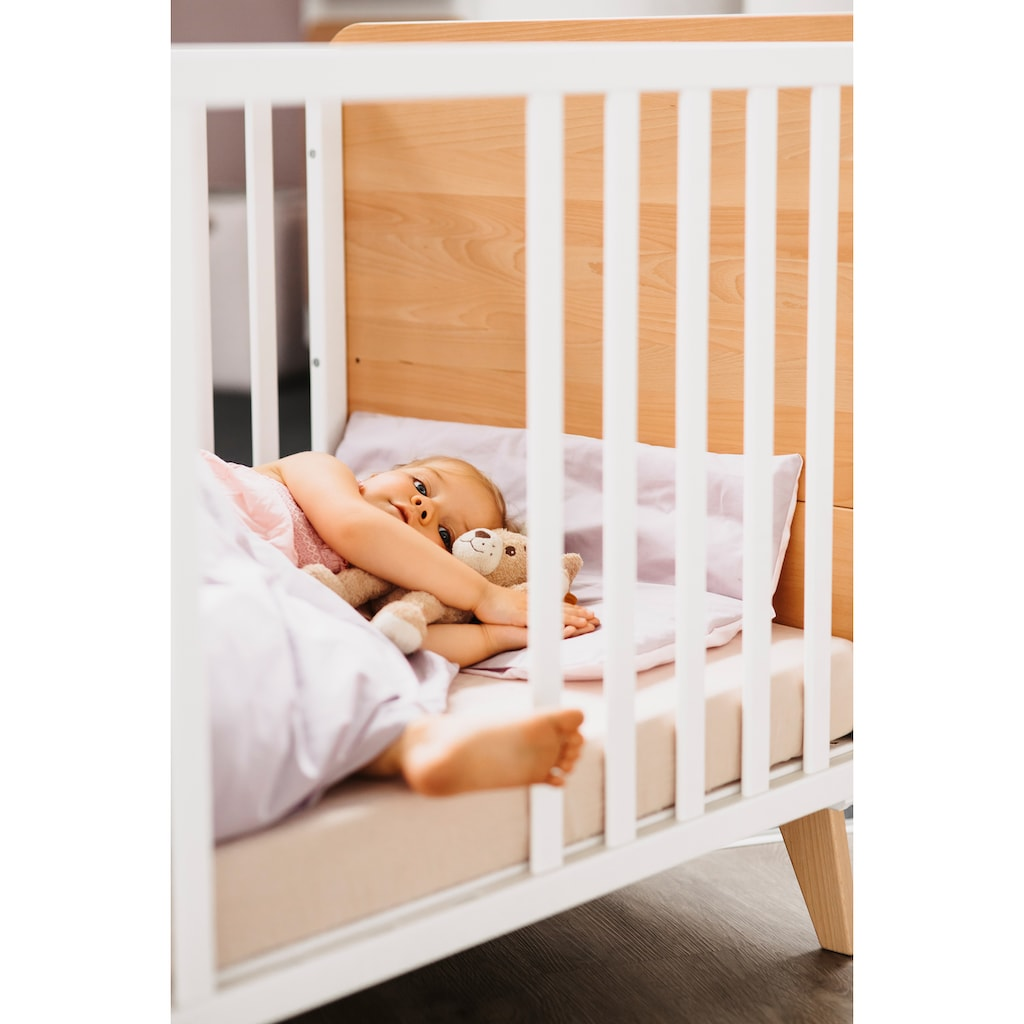 Geuther Babyzimmer-Komplettset »Traumwald«, (Set, 3 St.), mit Kinderbett, Kleiderschrank und Wickelkommode; Made in Germany