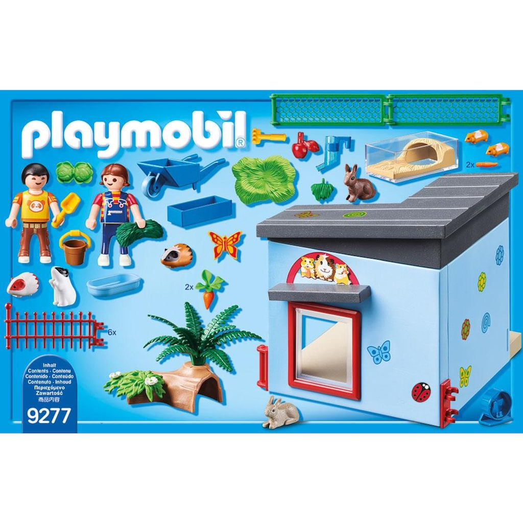 Playmobil® Konstruktions-Spielset »Kleintierpension (9277), City Life«, Made in Germany