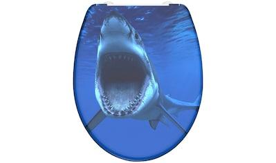 Schütte WC-Sitz »Shark«, mit Absenkautomatik kaufen