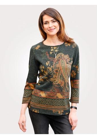 Mona Pullover mit platziertem Druck kaufen