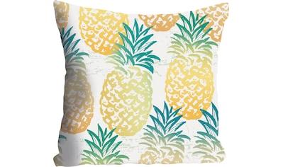 queence Kissenhülle »Janni«, (1 St.), mit Ananas kaufen