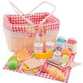 New Classic Toys® Spiellebensmittel »Bon Appetit - Schneideset Picknickkorb«
