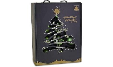 RIFFELMACHER & WEINBERGER Weihnachtsbaumkugel, (Set, 24 St.), Ø ca. 6 cm, aus Glas,... kaufen