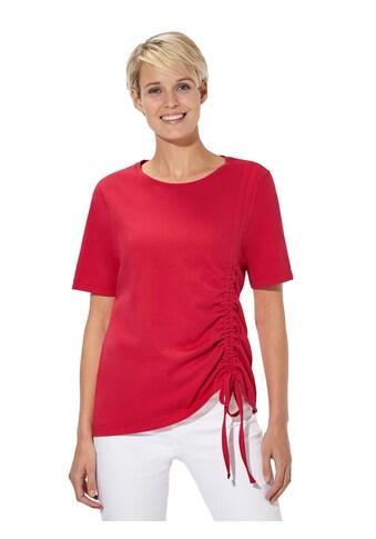 Classic Basics Shirt mit seitlicher Raffung kaufen