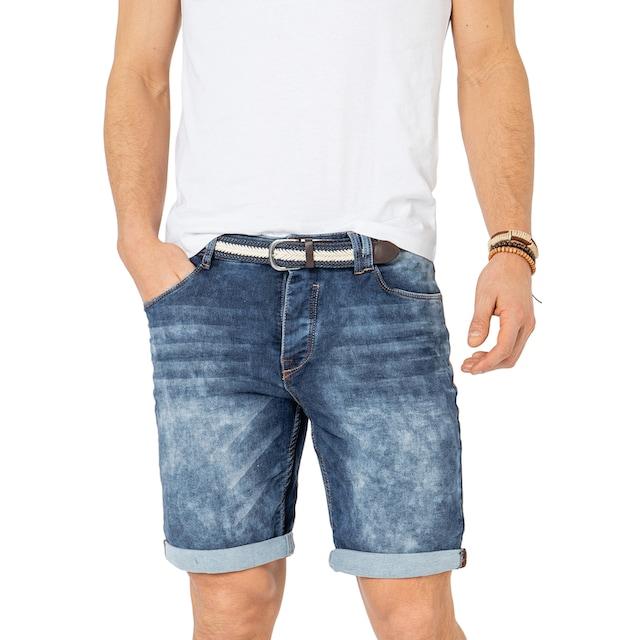 SUBLEVEL Jeansbermudas