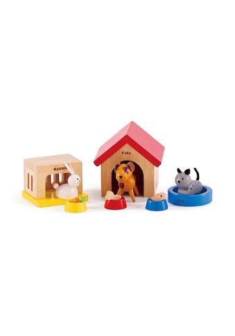 """Hape Puppenhausmöbel """"Haustiere aus Holz für Puppenhaus"""", (Set, 12 - tlg.) kaufen"""