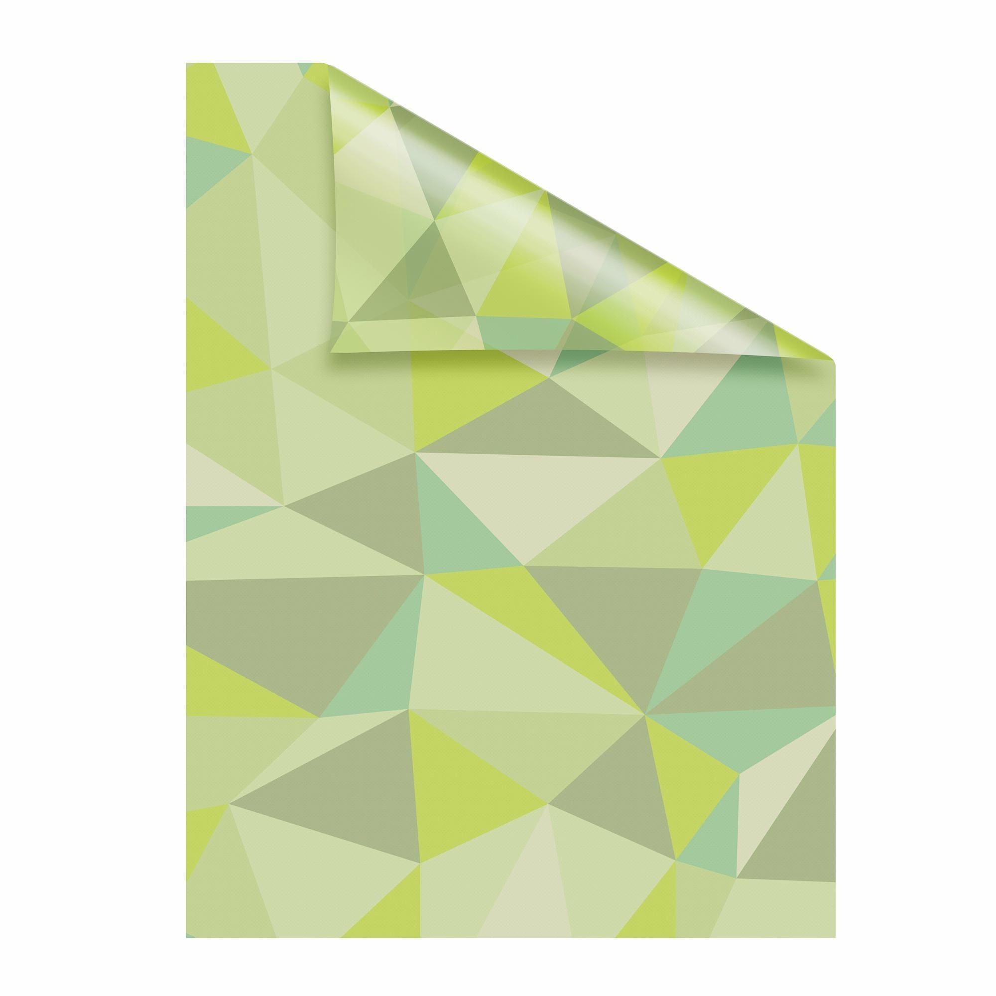 Fensterfolie, Pattern Dreiecke, LICHTBLICK, blickdicht, strukturiert günstig online kaufen