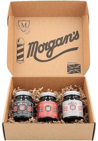 Morgan's Haarstyling-Set »Pomade Gift Set«, (3 tlg., 3 Pomaden für jeden Haarstyle) kaufen